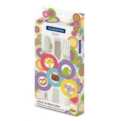 Набор детских столовых приборов Tramontina Baby, 3 предмета (66970/020)