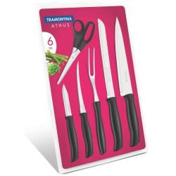 Набор ножей Tramontina Athus, 6 предметов (23099/090)