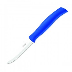 Нож овощной Tramontina Athus с синей ручкой 76 мм (23080/013)