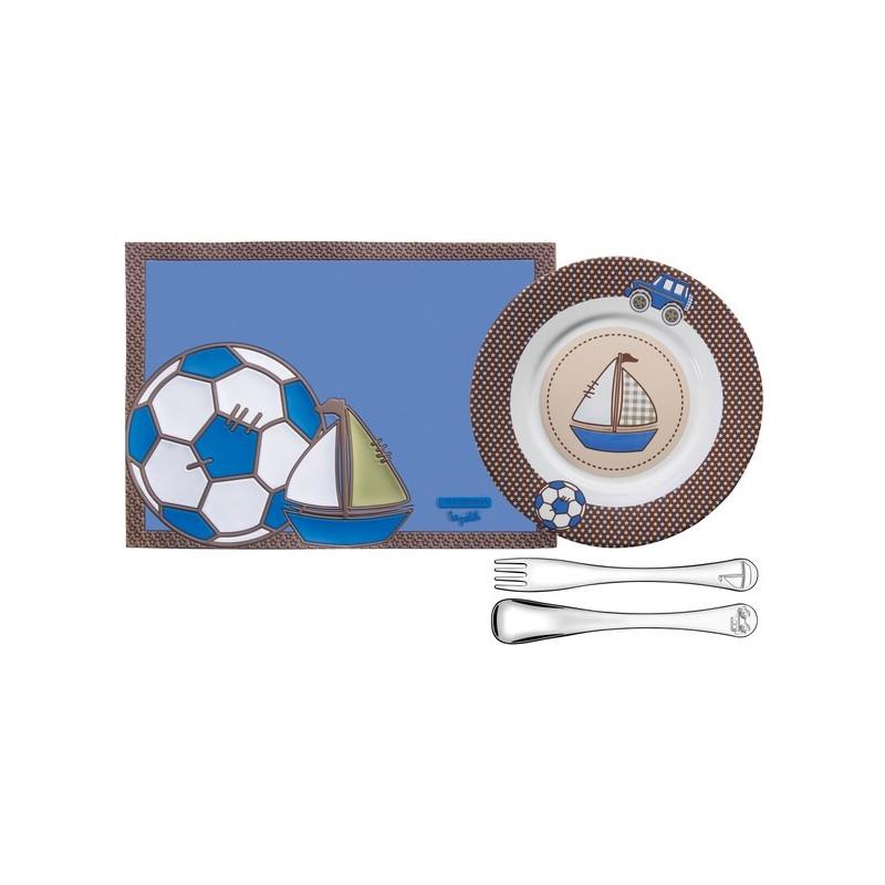 Набор детской посуды Tramontina Baby le Petit blue (64250/680)