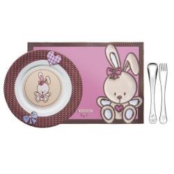 Набор детской посуды Tramontina Baby le Petit Pink (64250/685)