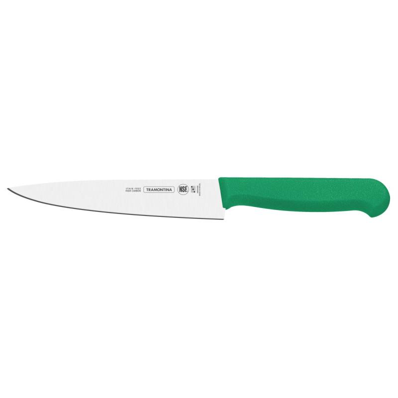 Нож для мяса Tramontina Profissional Master, green, 203 мм в блистере (24620/128)