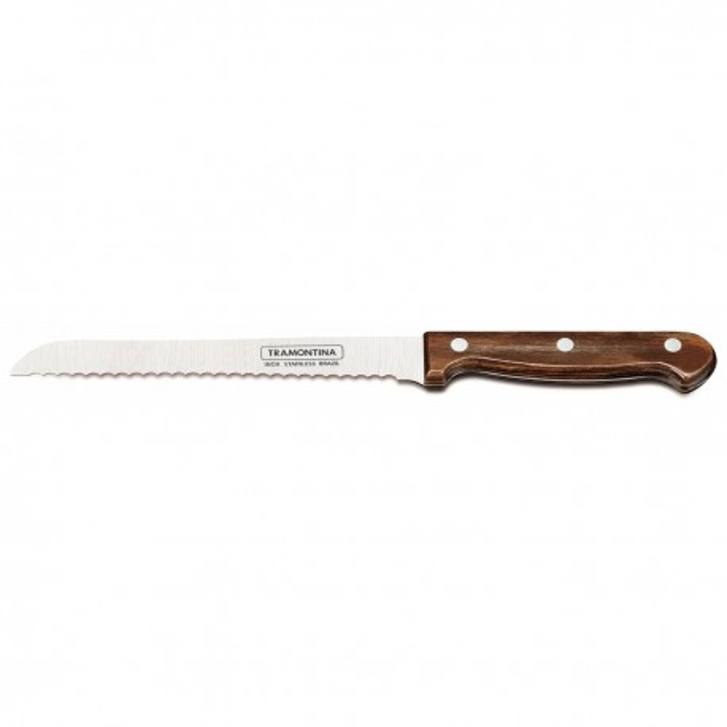 Нож для хлеба Tramontina Polywood 178 мм в блистере (21125/197)