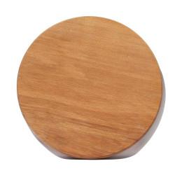 Доска разделочная круглая буковая 23,5 см ДРК-25