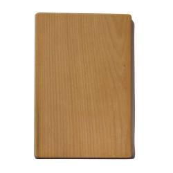 Деревянная разделочная доска из цельного массива дерева, маленькая 20х29 см ДРД-3