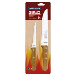 Набор из 2 ножей для мяса Tramontina Barbecue (22399/088)