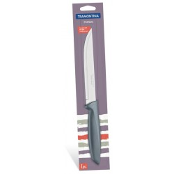 Нож для мяса Tramontina Plenus 152 мм серый в блистере (23423/166)