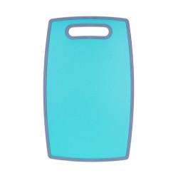 Пластиковая разделочная доска Ringel Main 20х30х1,2 см бочкообразная голубая (RG-5117/26)