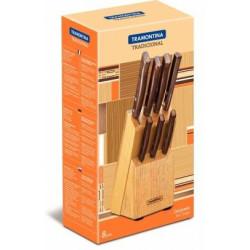 Набор столовых ножей Tramontina Tradicional (3 шт) (22201/304)