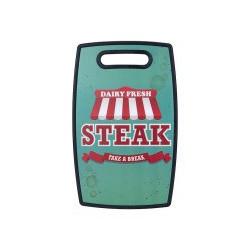 Пластиковая доска для разделки Ringel Main Steak бочкообразная 23х37х1,2 см (RG-5117/35)