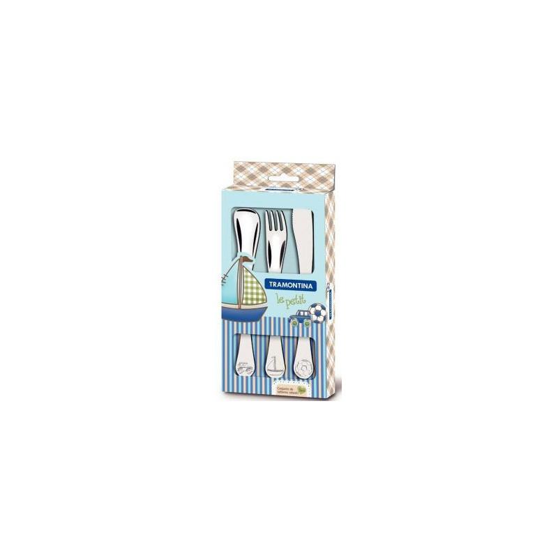 Набор детских столовых приборов Tramontina Baby Le Petit голубой 3 шт (66973/000)