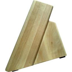 Деревянная подставка из клена для 4 ножей и ножниц ДПН-1