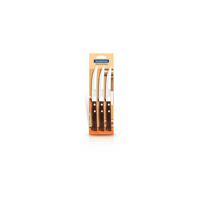 Набор из 3 ножей для стейка Tramontina Tradicional, 127 мм (22200/305)