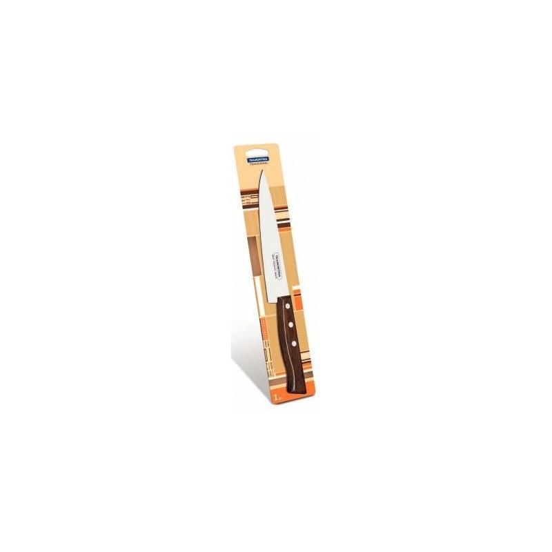 Нож кухонный Tramontina Tradicional с выступом в блистере, 203 мм (22217/108)