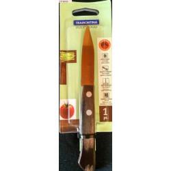 Нож для овощей Tramontina Polywood, 76 мм, орех, в блистере (21118/193)