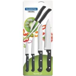 Набор ножей Tramontina Functional, 6 предметов (23899/089)