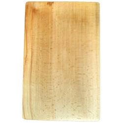 Деревянная разделочная доска из цельного массива дерева, большая 24х38 см ДРД-5