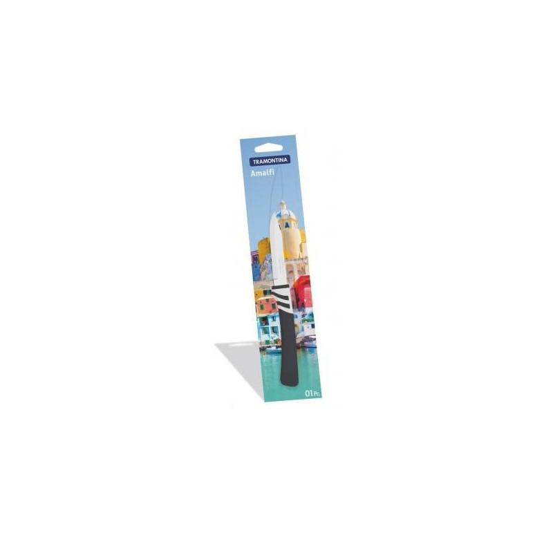 Нож для овощей Tramontina Amalfi, черный, 76 мм (23481/163)