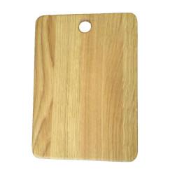 Разделочная доска из дерева прямоугольная, клееная, ДРК-1 17х25 см