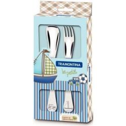 Набор детских столовых приборов Tramontina Baby Le Petit, синий, 2 предмета (66973/010)